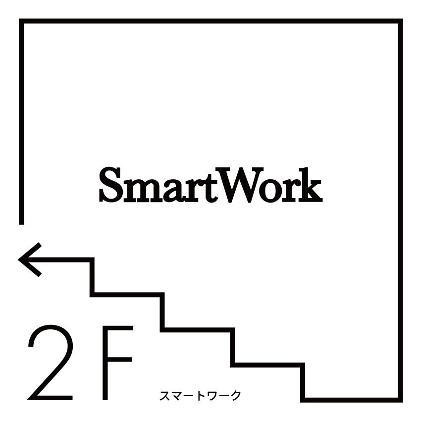SmartWork案内板
